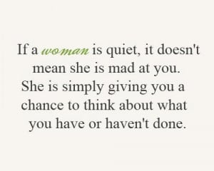 life, mad, quiet, quote, woman