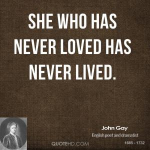 John Gay Quotes