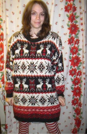 Weird - Ugly Sweater for Christmas Party