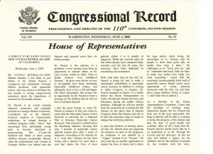 congressional record pic safety pilot