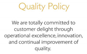 Quality Policy