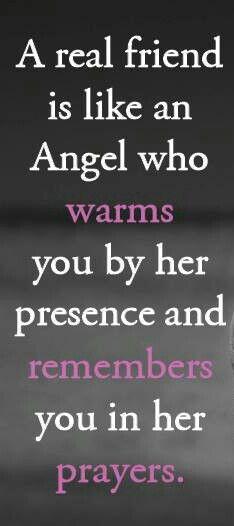 Angel Friendship Quote...