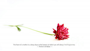 Flower And Quotes Print by Arthie Beighle