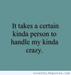... am crazy if you think i m crazy now i am crazy they call me crazy