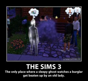 The Sims can get pretty weird…