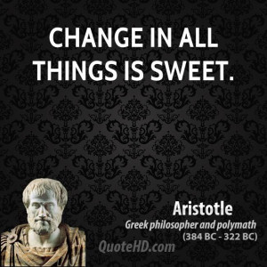 Things Change Quotes