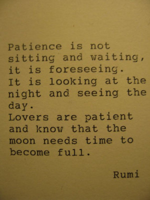 Rumi Love Quote Typed on Typewriter Frame Optional Poster Print on ...