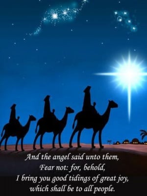 Christmas ~ For unto us a child is born, unto us a son is given: and ...