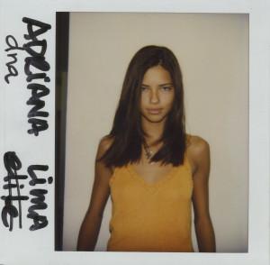 Adriana Lima Polaroids