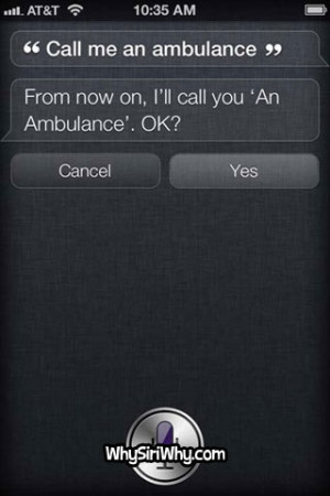 Top 10 Funniest SIRI Quotes