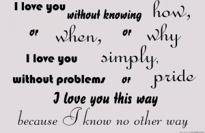 Short Funny Tumblr Quotes - I Love You