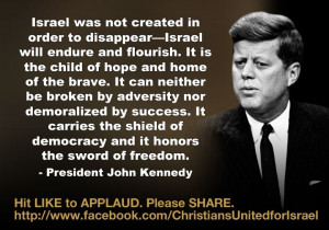 We applaud President John F. Kennedy's strong support of the young ...