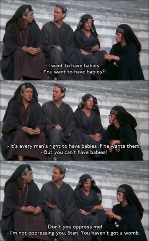 Monty Python - Life of Brian: Geeky Funny, Monty Python Life Of Brian ...