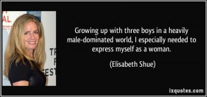 Boys Growing Up Quotes