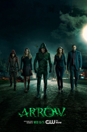 New poster for The CW's Arrow Season 3 shows the core cast doing a ...