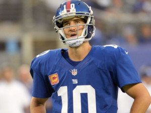 Eli Manning Interception...