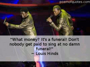 Bernie Mac Funny Quotes Soul men was bernie mac's last