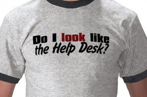... vintage-inspired ringer Tee and tell everyone you are not a Help Desk