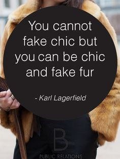 Karl Lagerfeld quote on Fashion #bprwords Karl Lagerfeld Quotes, Chic ...