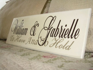 Unique personalized wedding gifts Quote, Family Established Sign ...