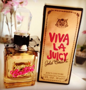 Juicy has a new perfume available called Viva la Juicy Gold Couture ...