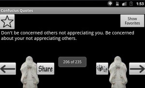 Confucius Quotes and Sayings - screenshot