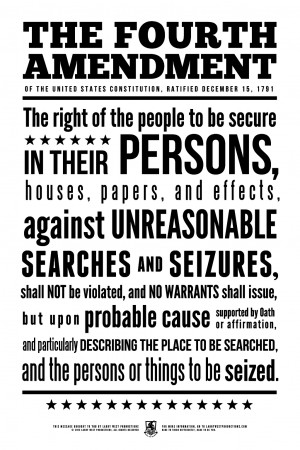 the importance of the us fourth amendment to the people of america The fourth amendment requires police to have probable cause before searching people or their property in criminal investigations in practice, it is enforced through the exclusionary rule: if police search without probable cause, any evidence found in the search may be excluded from court we.