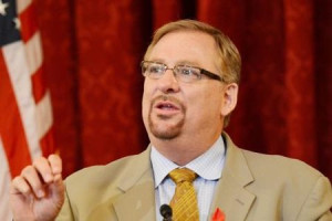 Pastor Rick Warren On Whether Homosexuality Is A Sin