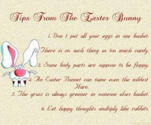 Funny Easter Bunny Quotes Funny easter quotes pictures