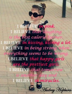 My designed Audrey Hepburn quote ♥.