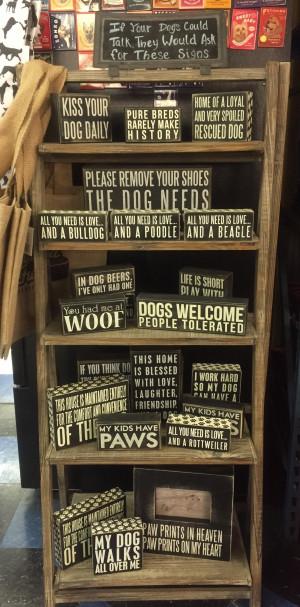 box signs