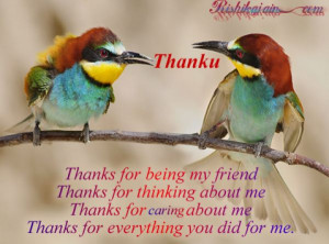 Thank You Quotes For Guy Friends Thank you.