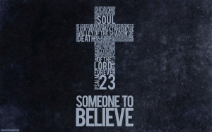 Psalm 23 Cross Scripture Christian HD Wallpaper background for your ...
