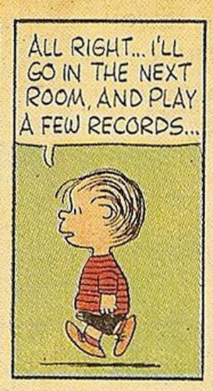 Peanuts Play Vinyl Records