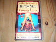 The Outrageous Hector Nicol in Bawdy Lines VHS - 1981 UK *Rare ...