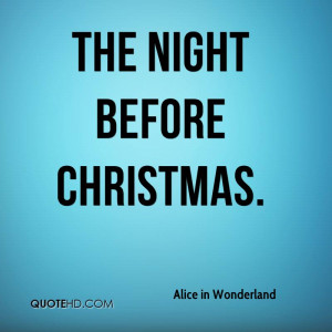 Alice in Wonderland Christmas Quotes
