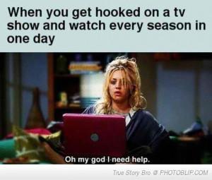 big bang theory, funny, hahaha, hair, help, laptop, omg, penny, pink ...