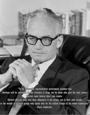 Senator Barry Goldwater (R)