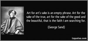 More George Sand Quotes