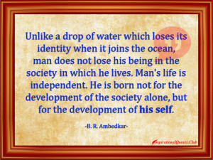 ... , intelligent, be yourself, being different, B. R. Ambedkar