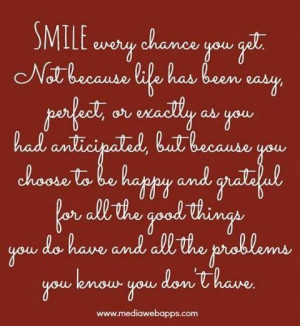 SMILE...God is so merciful to us!