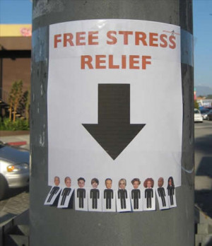 Funny Free stress relief