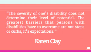 Quotes About Success In School 2013 Karen Clay Defines Inclusion ...