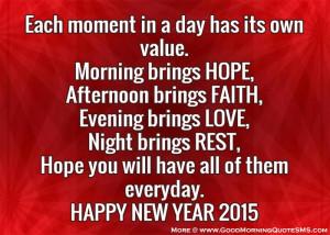 Happy New year quotes 2015