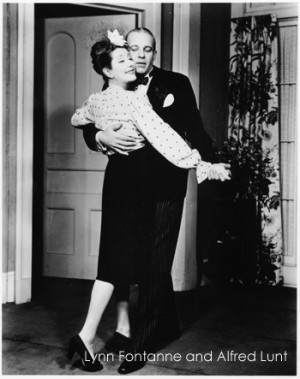 Alfred Lunt and Lynn Fontanne