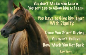 By Ray Hunt—Master of Natural Horsemanship