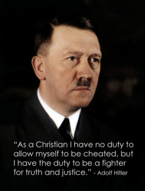 Why is Adolf Hitler an Inspiration?