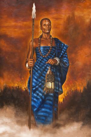 African Warrior Prints
