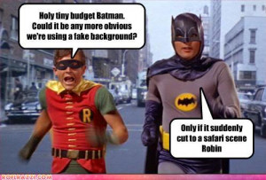 batman robin cheap budget