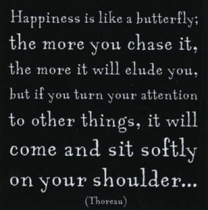 black and white, butterfly, happiness, phrases, quotes, sayings, text ...